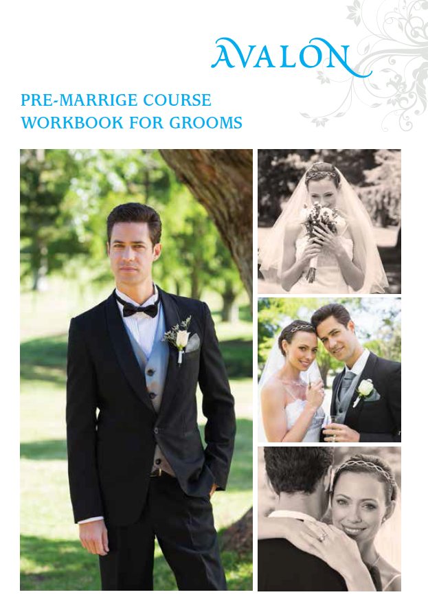 Pre-marriage course workbook for Grooms